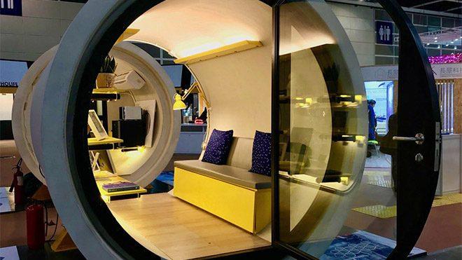 Hong Kong tüp ev konsepti