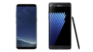 Samsung Galaxy Note 8 pil sorunu Galaxy S8