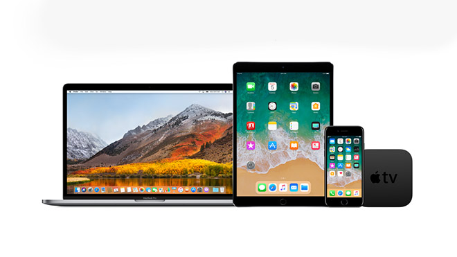 Apple iOS 11.2.5 ve macOS High Sierra 10.13.3