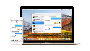 Apple iOS Mac Messages