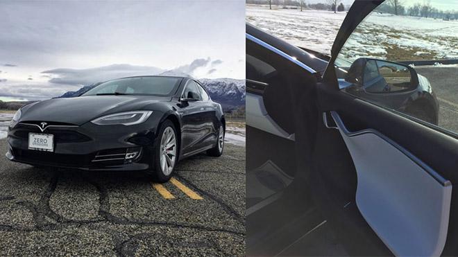 Zırhlı Tesla Model S