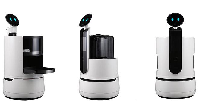 LG CLOi robot