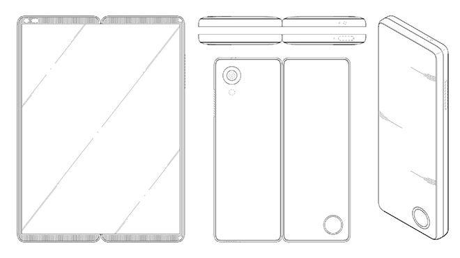 LG katlanabilir akıllı telefon patent
