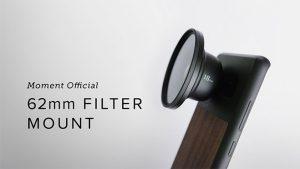 Moment lens filtre adaptörü