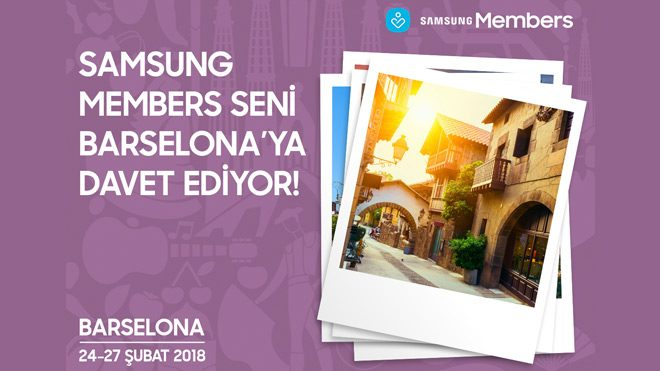Samsung Members Barselona