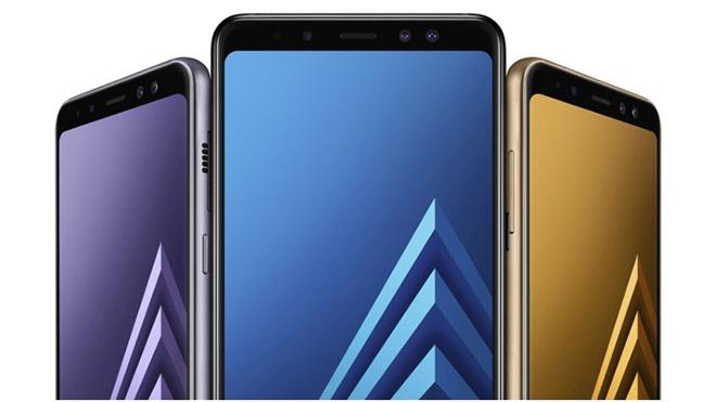 Samsung Galaxy A8 (2018) ve Galaxy A8+(2018)