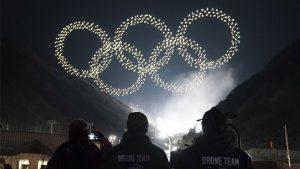Intel drone 2018 Kış Olimpiyatları