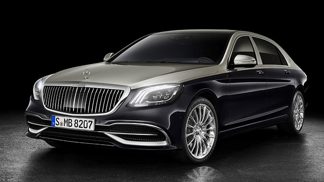 2019 Mercedes-Maybach S-Serisi