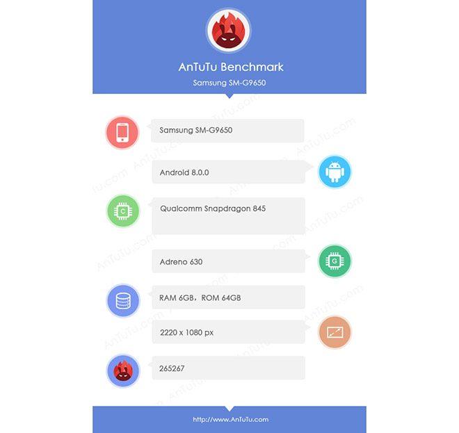 Samsung Galaxy S9 ve Galaxy S9+ AnTuTu