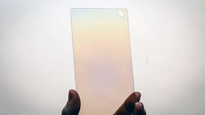 Elmas ekran akıllı telefon