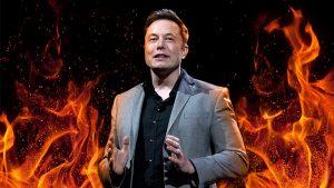 Elon Musk alev silahı