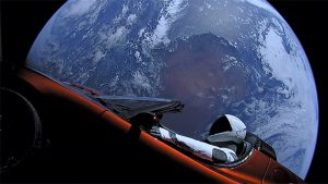 Tesla SpaceX Elon Musk Falcon Heavy Tesla Roadster