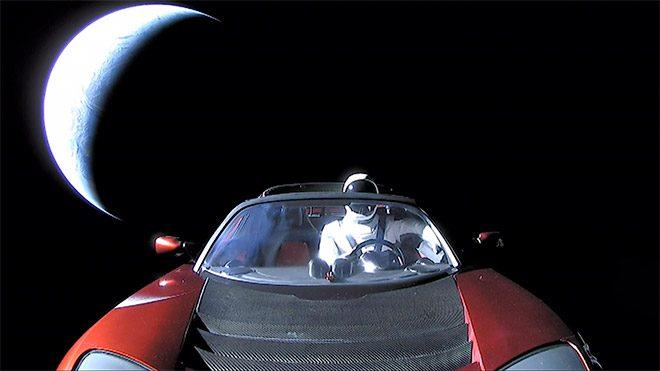 Tesla SpaceX Elon Musk Falcon Heavy Tesla Roadster