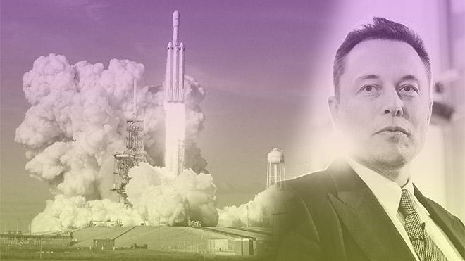 Elon Musk Falcon Heavy SpaceX