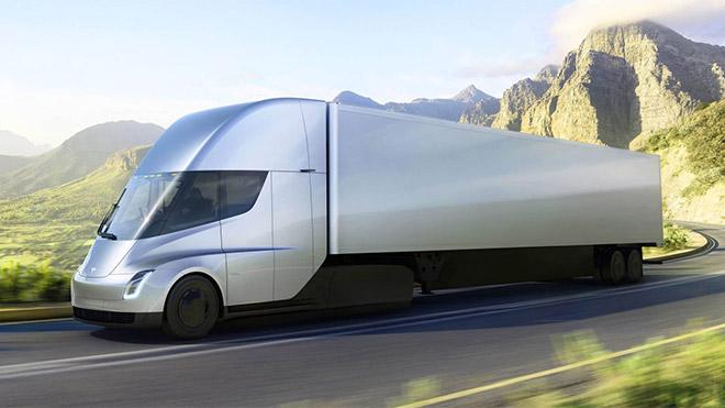 Tesla Semi Elon Musk