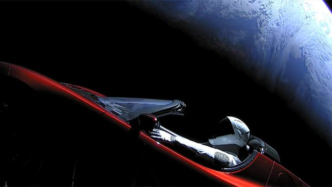 Tesla Roadster Elon Musk Falcon Heavy SpaceX
