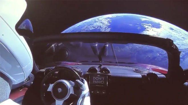 Falcon Heavy Tesla Roadster