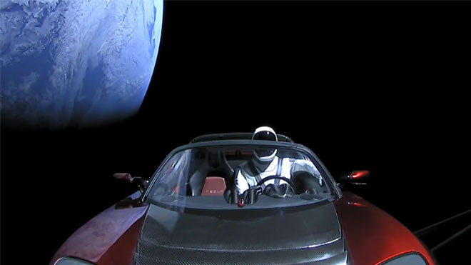 Falcon Heavy Tesla Roadster