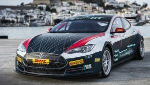 Electric Production Car Series Tesla Electric GT