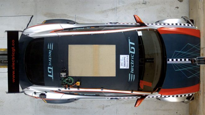 Electric Production Car Series Tesla Electric GT