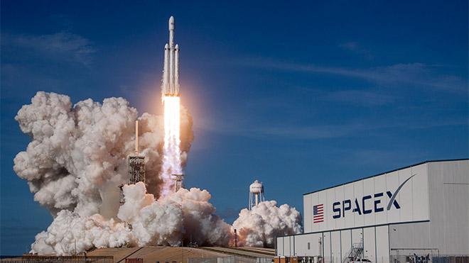 SpaceX Roket kalkış videosu