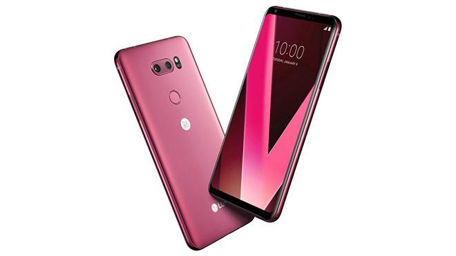 LG V30 Ahududu gülü