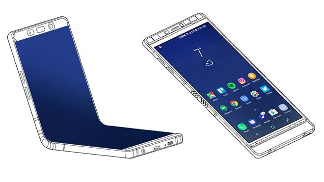 Samsung katlanabilir akıllı telefon Galaxy X