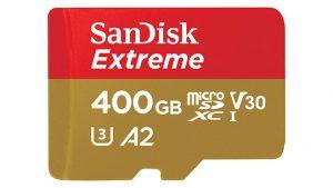 Sandisk 400 GB microSD