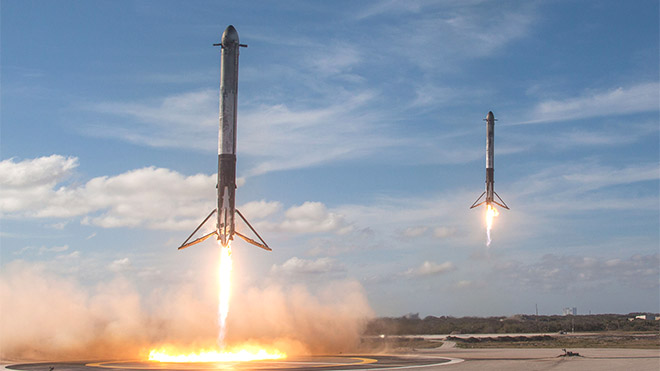 SpaceX Falcon Heavy Elon Musk