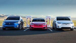 Tesla model s model 3 model x