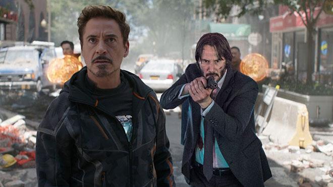 Avengers Infinity War ve John Wick