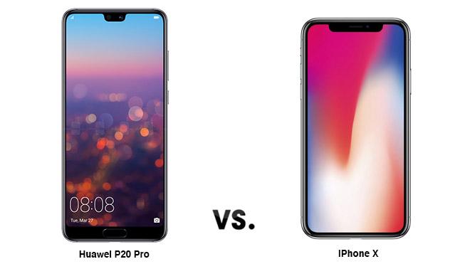 Huawei P20 Pro iPhone X