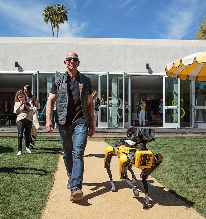 Jeff Bezos Spot Mini