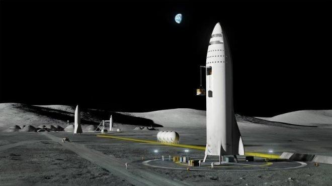 SpaceX Elon Musk BFR roket Mars