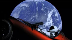 tesla roadster falcon heavy