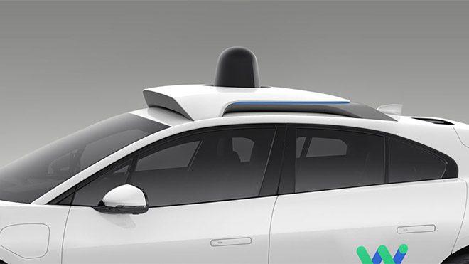Google Waymo Jaguar I-Pace