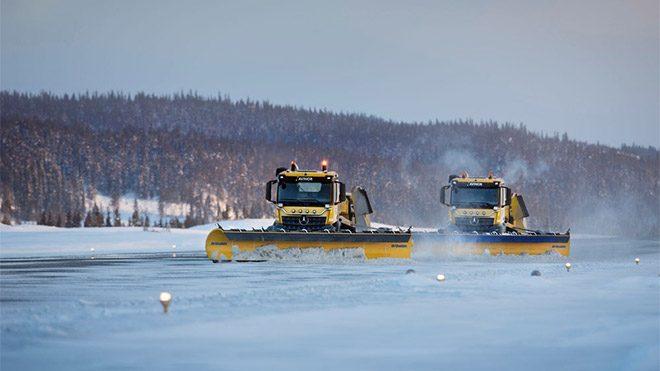 Yeti Snow Technology sürücüsüz kar küreme aracı