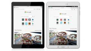 Microsoft Edge tablet