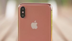 Apple iPhone X Blush Gold