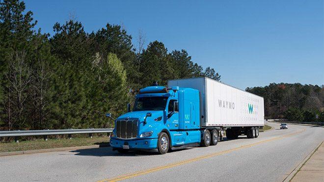 Waymo Google sürücüsüz kamyon