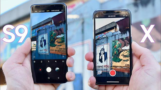 Samsung Galaxy S9 Plus ve iPhone X