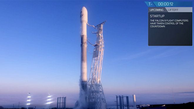 SpaceX Iridium-5 Mission