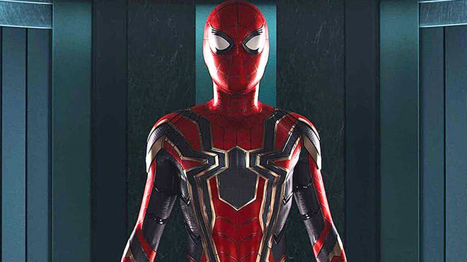 Avengers: Infinity War'da göreceğimiz Iron Spider kostümü