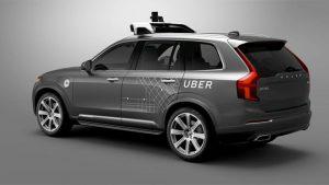 Uber sürücüsüz otomobil kaza