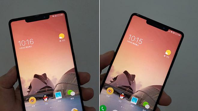 Xiaomi Mi 7 çentik