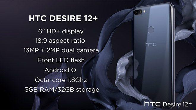HTC Desire 12 ve Desire 12+