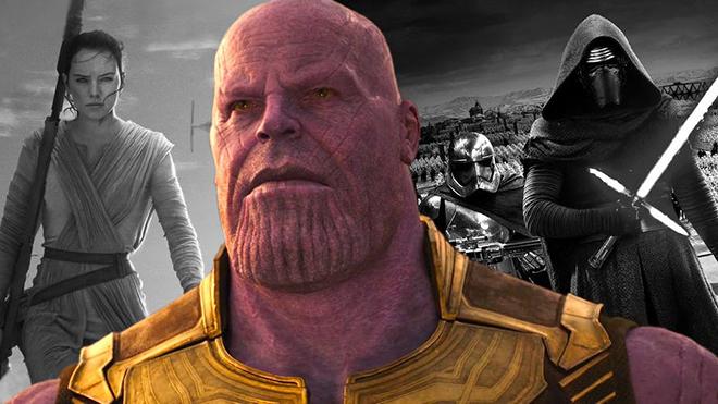 Avengers Infinity War Star Wars