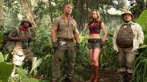 Jumanji 3 dwayne johnson