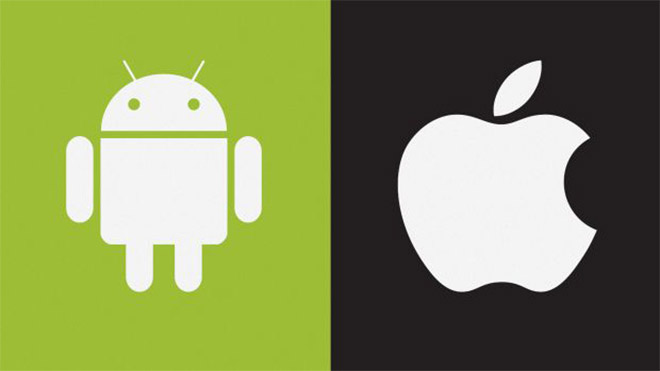 Apple Google Android iOS 11