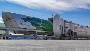 Virgin Hyperloop One Vision 2030 Pod